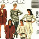 McCall's 5621 size 10 12 Cardigan Top Skirt Pants may be missing pieces, 50 cents plus shipping