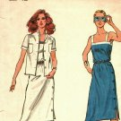 Butterick 3038 Pattern uncut 12 Fitted Dress Short Sleeve Jacket