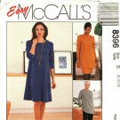 McCall's 8396 Pattern 8 10 12 uncut A-Line Dress Tunic Skirt Pants Easy to Sew