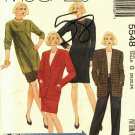McCall's 5548 Pattern Uncut 20 22 24 Jacket Dress Tunic Top Skirt Pants Separates