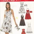 Simplicity New Look 6457 Pattern uncut 6 8 10 12 14 16 Summer Dresses Halter Sleeveless Strapless