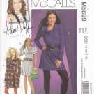 McCall's M5699 Pattern uncut 10 12 14 16 Dress Cowl Neck Gathers for Knit Fabrics