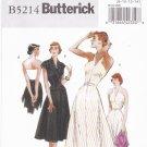 Butterick B5214 Pattern uncut 8 10 12 14 Retro 47 Halter Dress Jacket Belt