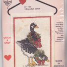 Counted Cross Stitch Kit 071102 Canada Geese 2 Canadian Geese Hanger Christmas