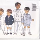 Butterick 4355 Pattern 5 6 6X uncut Boys Jacket Pants Shorts Knickers Bow Tie