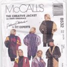 McCall's 8532 Pattern uncut XXL 24 26 The Creative Jacket Palmer and Pletsch