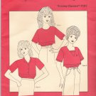 Elizabeth Lee Designs Pattern 107 uncut All Sizes Nursing Breastfeeding Tops