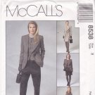 McCall's 8538 Pattern uncut 8 Lined Jacket Vest Pants Skirt Jones New York