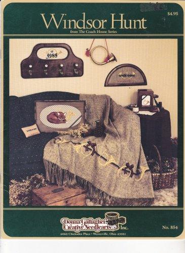 Windsor Hunt Donna Gallagher Cross Stitch leaflet Fox Hunt