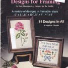 Designs for Framing Lois Thompson Plaid 7452 Cross Stitch Design Booklet