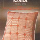 Needlepoint Basics Barbara Hunter leaflet Leisure Arts 28