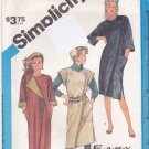 Simplicity 6538 Uncut 8 10 12 Loose Fit Asymmetric Wrap Dress or Jumper
