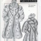 Style 018 Sewing Pattern uncut Donna Salyers Fabulous (Faux) Furs Coat