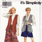 Simplicity 8059 Uncut Long Shaped Hem Vest Split Skirt all sizes