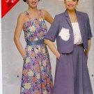 Butterick See & Sew Pattern 5288 Uncut 12 14 16 Sun Dress Jacket