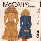 McCall's 8170 Pattern uncut Girls 12 Ruffle Dress Shaped Waist Vintage 1980s