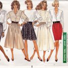 Butterick Pattern 6607 Uncut 12 14 16 Skirt Culottes