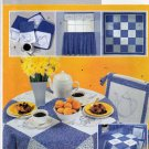 Butterick Home Decor 3929 Pattern Bluework Kitchen Embroidery