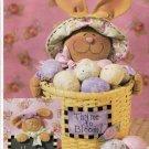 Butterick 3803 Pattern Luv 'N Stuff Bunny Thyme Basket Chalkboard
