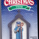 Counted Cross Stitch Kit Good Shepherd Christmas Trim 87136