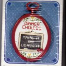Counted Cross Stitch Kit Dinner Choices Take It or Leave It 30538 New Berlin