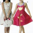 McCall's M6310 Pattern uncut Girls 4 5 6 Sun Dress Hat Tote Bag