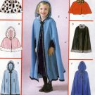 McCall's M4703 Pattern uncut Girls 2 3 4 5 Capelet Cape Hood or Collar