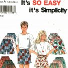 Simplicity 9052 size 14 Boys Girls Shorts may be missing pieces, 50 cents plus shipping