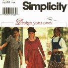 Simplicity 9774 sizes 7 -14 Girls Dress Jumper, may be missing pieces