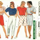 Butterick 4126 size L Top Skirt Shorts Pants, may be missing pieces