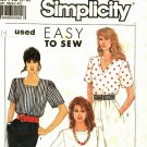 Simplicity 9587 size 14 Pullover Tops, may be missing pieces
