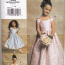 Vogue 7681 Pattern uncut Toddler Child 2 3 4 5 Special Occasion Dress