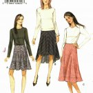 Vogue V9030 Pattern uncut 14 16 18 20 22 Bias Cut Skirt Shaped Hem Raised Waist