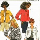 Butterick B5187 Pattern uncut 8 10 12 14 Loose Fit Gathered to Yoke