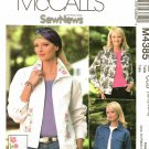 McCall's 4385 Pattern uncut 10 12 14 16 Jean Jackets with Optional Machine Embroidery