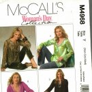 McCall's M4968 Pattern uncut XS S M Tunics in Three Lengths