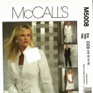 McCall's M5008 Pattern uncut 10 12 14 16 Lined Jacket Top Skirt Pants Wardrobe