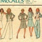 McCall's 4419 Pattern uncut 18 bust 40 Shirt-Jacket Vest Skirt Pants Vintage 1970s