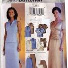 Butterick 3843 Pattern uncut 14 16 18 Mock Wrap Top Long Skirt Evening
