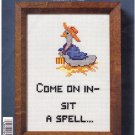 NMI NeedleMagic 9554 Sit A Spell Goose Counted Cross Stitch Kit 5x7