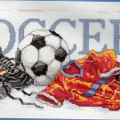 Soccer 087-0057-W Janlynn Counted Cross Stitch Kit 16x7