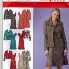 Simplicity 4014 Pattern uncut 20W - 28W Coat or Jacket in Two Lengths and Lined Dress