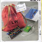 Kwik Sew 3391 Pattern uncut Backpack Pod Case Pencil Case Binder Case