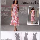 Simplicity 2174 Pattern uncut 6 8 10 12 14 Amazing Fit Dress in Two Lengths