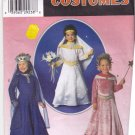 Simplicity 7795 Pattern uncut Girls Toddlers 3 4 5 6 7 8 Princess Costume Dress Crown Veil Belt