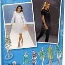 Simplicity 3530 Pattern uncut 4 6 8 10 12 Dress Tunic Neckline and Sleeve Variations Project Runway