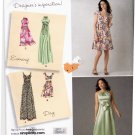Simplicity 2579 Pattern uncut 4 6 8 10 12 Dress Bodice Variations Short or Long Evening