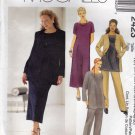 McCall's 2423 Pattern uncut 26W 28W 30W 32W Jacket Dress Top Pants Separates
