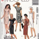 McCall's 4891 Pattern uncut 14 16 18 Chemise Dress Princess Seams