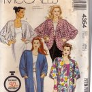 McCall's 4354 Pattern uncut small Boxy Unlined Jacket with Shoulder Pads or Cocoon Style 1980s